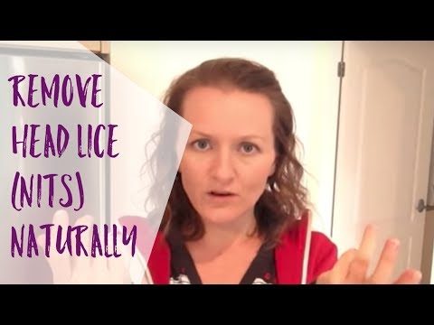 Get rid of head lice (nits) naturally and easily