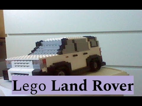 Lego Land Rover Version 2