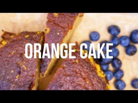 How to Make Orange Cake | Gluten and Dairy Free