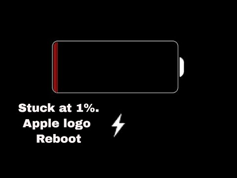 Solved- iPhone Stuck at 1% Chargng, iPhone Won't Turn On, Apple Logo Reboots automatically