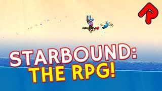 Starbound RPG Growth mod: Kill mobs for XP & level up stats