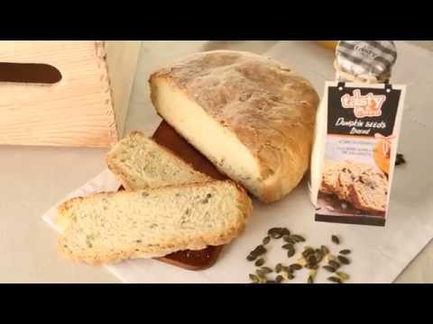 TASTY AND MORE - Pumpkin seeds bread