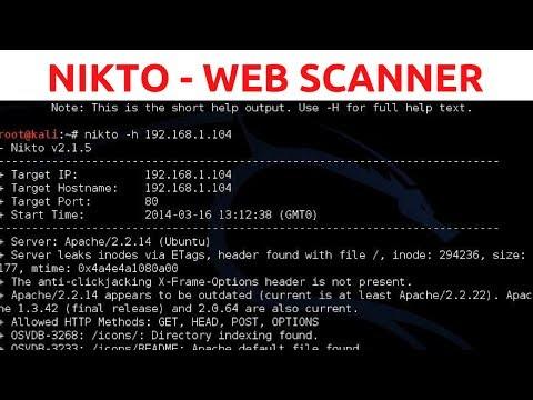 Nikto Web Vulnerability Scanner - Web Penetration Testing - #1