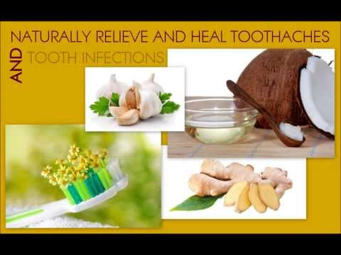 Natural cures for toothache and tooth infection