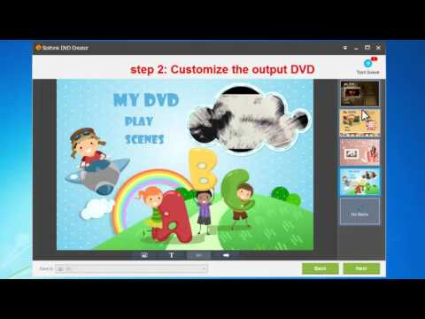 How to burn MP4 video to DVD with DVD Movie Maker?