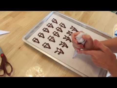 How To Make Chocolate Candy Decorations.