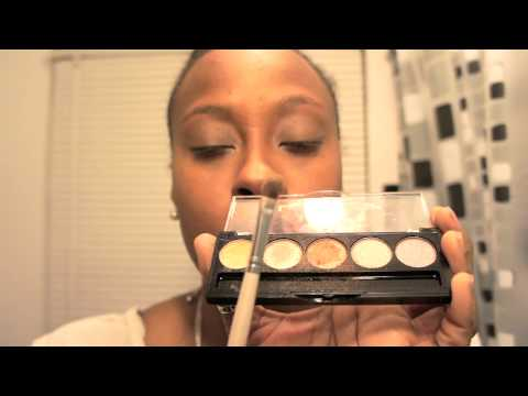 #Beauty 101 - Full Face Make-up tutorial With Hot Pink Lipstick