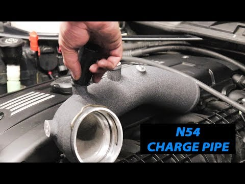 Download VRSF BMW N54 Charge Pipe Upgrade Kit DIY