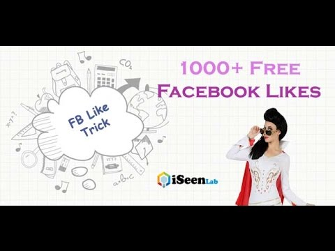 1000+ Free Facebook Likes with LikeLo Photo Liker