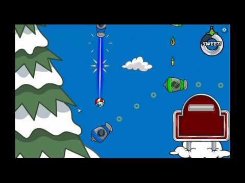 Club Penguin - Puffle Launch Blue Sky Level 1