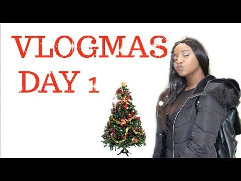 VLOGMAS DAY 1 || Studying