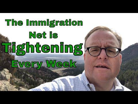 U.S. Tightens the Net Around Immigrants