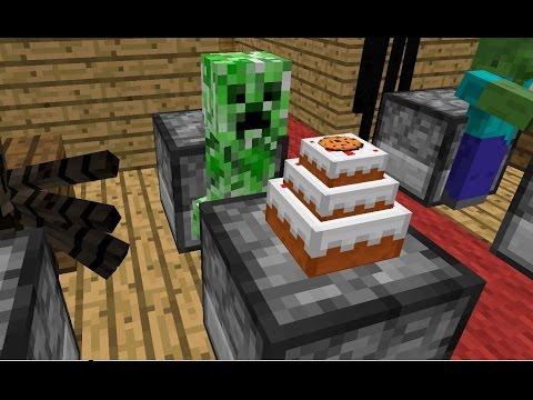 Monster School: Baking - Minecraft Animation