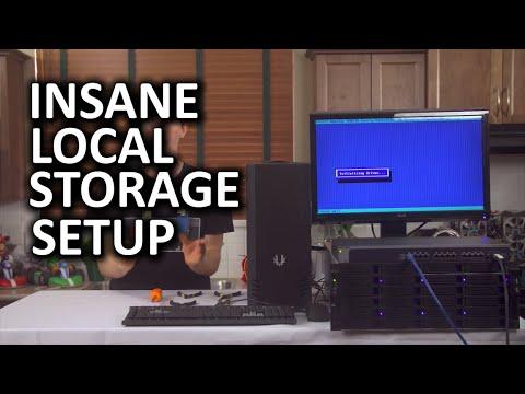 Insane Storage Server - Fully 10 Gigabit Network, $1,500 Switch