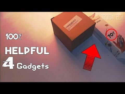 4 Helpful Smartphone Gadgets on Amazon Under 100 Rupees - September 2017