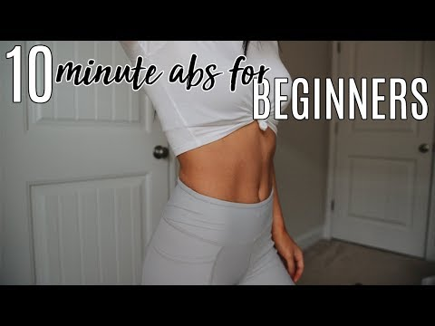 The Ultimate 10 Minute Ab Workout for Beginners!