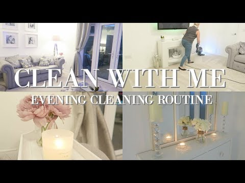 CLEAN WITH ME 2018 | EVENING CLEANING ROUTINE | EXTREME CLEANING MOTIVATION | MRS SMITH & CO.