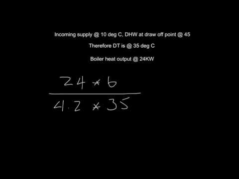 Mass flow rate calculation