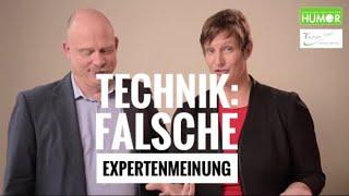 Technik: Falsche Expertenmeinung