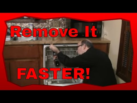 How To Remove A Built In Dishwasher
