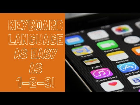 How add or change keyboard language on iPhone or iPad [ No Talk, Just watch ]