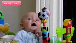 مواقف مضحكة جدا للاطفال هتموت من الضحك