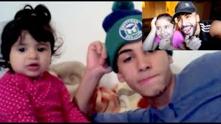 ADAM SALEH AND REEMA REACT TO THEIR FIRST VIDEO
