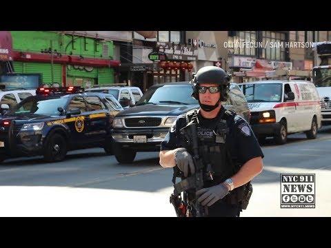 NYPD Bomb squad investigates suspicious device
