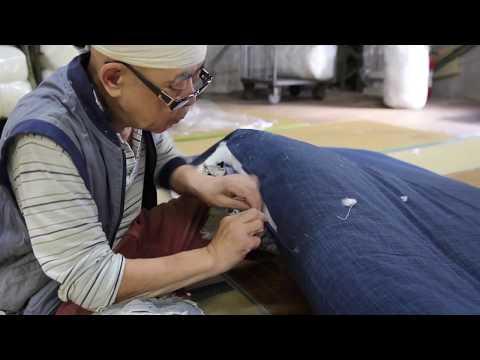 [Futon Tokyo] Futon Craftsman Series - Japanese Mattress (Shikibuton)