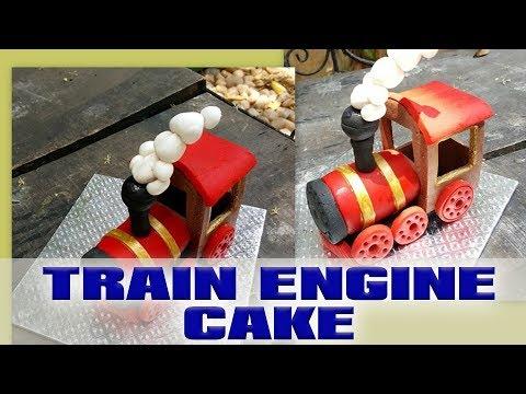 Edible train engine topper tutorial- DIY