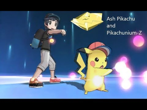 How to get Ash Pikachu and Pikachunium-Z!
