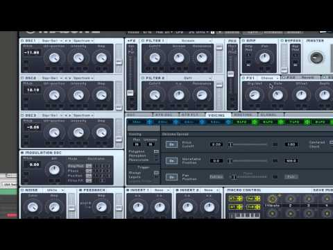 How to make a LMFAO like synth in Massive