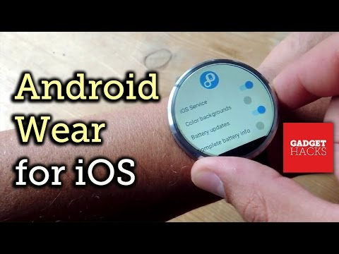 Connect an Android Wear Smartwatch to an iPhone or iPad [How-To]