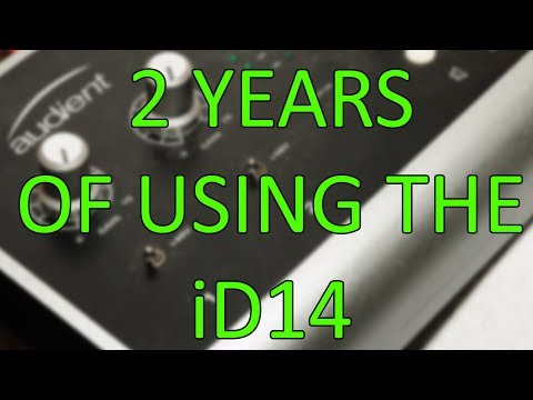 Audient iD14 Review Two Years Later (Unsponsored)