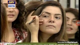 Kiran khan no makeup