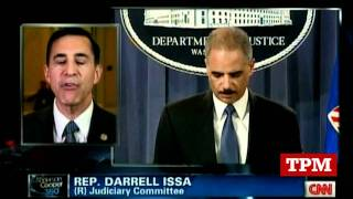 Issa: We Wouldn't Give Bush's ATF Scandal A Pass