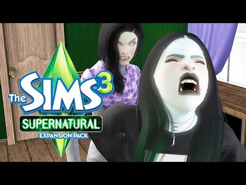 THE SIMS 3: SUPERNATURAL | [S2] PART 16 - When Rosalie Comes to Visit