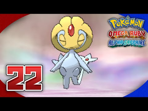 Pokémon Omega Ruby and Alpha Sapphire Walkthrough (After Game) - Part 22: UXIE!