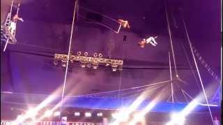 Trapeze Act - Circus Circus Las Vegas 6-17-2014