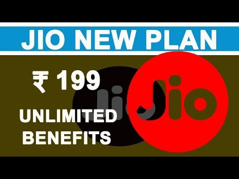 Jio To Launch New Plan With Unlimited Benefits At Rs 199 Monthly