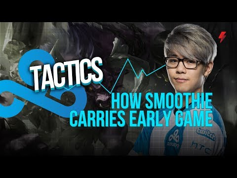 How C9 Smoothie carries early game using botlane pressure and fast roams