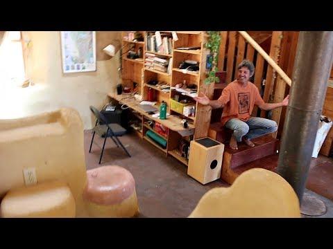 Big Cob House Built to CODE