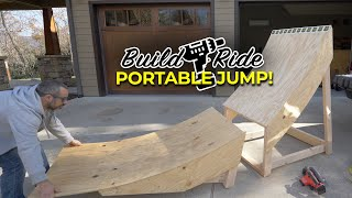 Building a huge portable bike jump that fits in my Honda