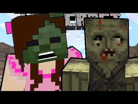 Minecraft: MORPHED INTO A ZOMBIE!! - THE FOURTH AGE [2]
