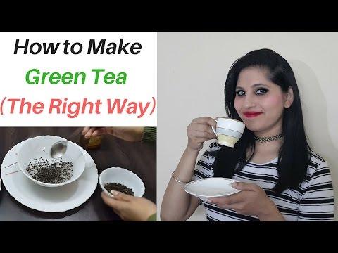 How To Make Green Tea at Home | Green Tea Recipe | Green Tea for weight loss