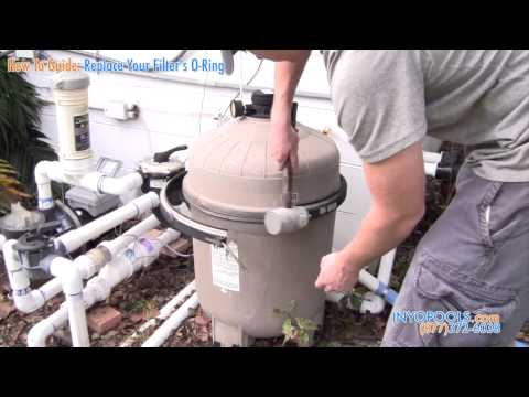 How To: Replace a Pool Filter O-ring on a Cartridge Filter