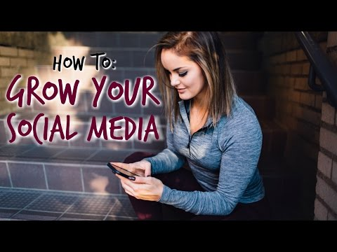 3 TIPS FOR SOCIAL MEDIA GROWTH 📶📱 How to Become a Social Media Influencer