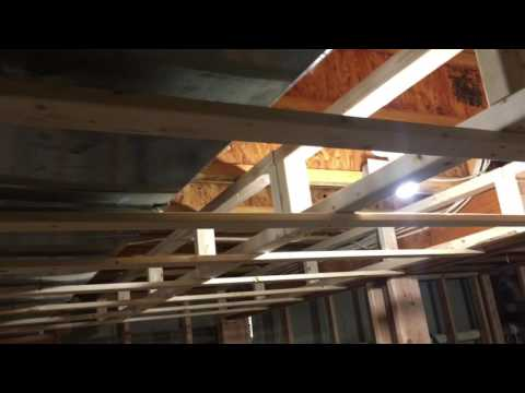 Finishing My Basement - Soffit Framing Around Duct Work