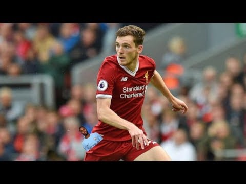 Sterling gets bullied by Andrew Robertson