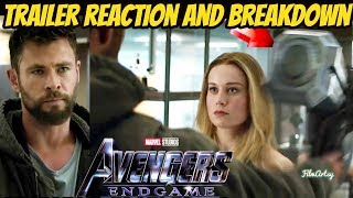 Avengers: Endgame Official Trailer #2 Reaction and Breakdown | Must Watch